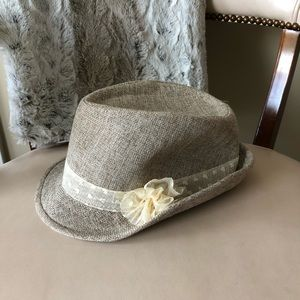 Amici tan fedora style hat